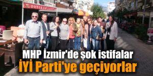 MHP İzmir'de şok istifalar... İYİ Parti'ye geçiyorlar