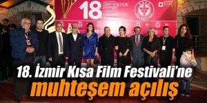 18. İzmir Kısa Film Festivali'ne muhteşem açılış
