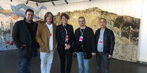 İzmir Kısa Film Festivali'nde jüri seçimini yapıyor