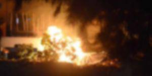 Van'da Bomba Yüklü Araçla Saldırı