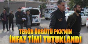 Terör örgütü PKK'nın infaz timi tutuklandı