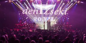 Deniz Seki, müzikte 20. yılını sahnede kutladı