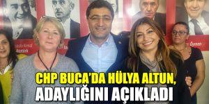 CHP Buca'da Hülya Altun, adaylığını açıkladı