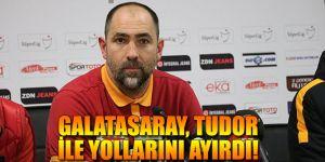 Galatasaray, Tudor ile yollarını ayırdı!