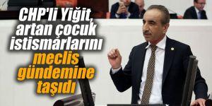 CHP'li Yiğit, artan çocuk istismarlarını meclis gündemine taşıdı