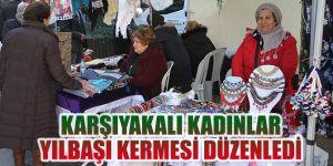 Karşıyakalı kadınlar yılbaşı kermesi düzenledi