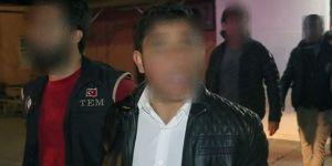 Karakola EYP atan 5 kişi yakalandı
