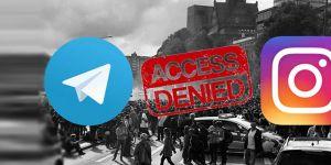 İran, Telegram ve Instagramı engellendi...