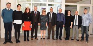Prof. Dr. Necdet Budak,  Ege Ajans'ı tebrik etti