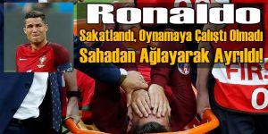 Ronaldo Sakatlanınca Gözyaşlarını Tutamadı