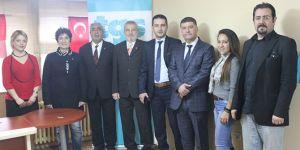Türk Birliği Partisi, TGS'yi  ziyaret etti