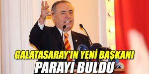 Yeni başkan Mustafa Cengiz parayı buldu