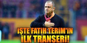Fatih Terim'in ilk transeri o isim