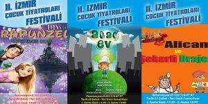 II. İzmir Çocuk Tiyatroları Festivali Başlıyor