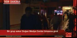 CNN Türk Binasında Silah Sesleri!