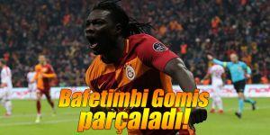Yıldız golcü Bafetimbi Gomis parçaladı!