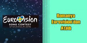 Romanya Borcu Yüzünden Eurovision'dan Atıldı