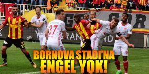 Bornova Stadı'na engel kalmadı