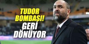 Süper Lig'de Tudor bombası!