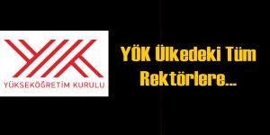 YÖK'ten Rektörlere Fethullah Gülen Talimatı