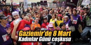 Gaziemir'de 8 Mart Kadınlar Günü coşkusu