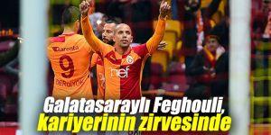 Galatasaraylı Feghouli, kariyerinin zirvesinde