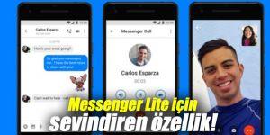 Messenger Lite için sevindiren özellik!