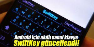Android için akıllı sanal klavye SwiftKey güncellendi!