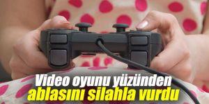 Küçük çocuk video oyunu yüzünden ablasını silahla vurdu