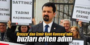 Gruşçu'dan İzmir Kent Konseyi'nde buzları eriten adım