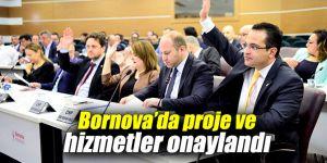 Bornova Belediyesi, proje ve hizmetleri onaylandı