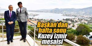 Başkan Kocaoğlu'ndan hafta sonu Kuzey İzmir mesaisi