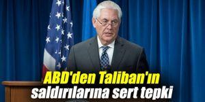 ABD'den Taliban'ın saldırılarına sert tepki