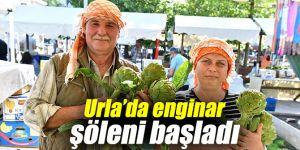 Urla Enginar Festivali başladı