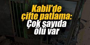 Kabil'de çifte patlama: Çok sayıda ölü var
