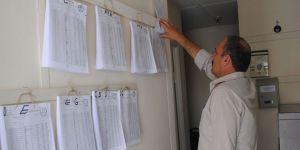 Seçmen listeleri muhtarlıklara teslim edildi