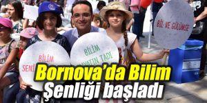 Bornova'da Bilim Şenliği başladı