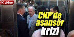 CHP Genel Merkezinde asansör krizi