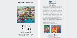 Ressam Tunç Tanışık, Selçuk Yaşar Sanat Galerisi'nde...