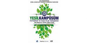 """""""Yeşil Kampüs- Fotoğraf ve Kısa Film Yarışması"""" başlıyor"""