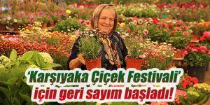'Karşıyaka Çiçek Festivali' için geri sayım başladı!