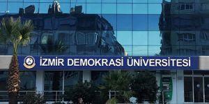 İzmir Demokrasi Üniversitesi'nden İsrail'e tepki