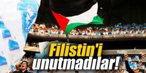 Filistin'i unutmadılar!