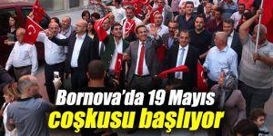 Bornova'da 19 Mayıs coşkusu başlıyor