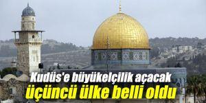 Kudüs'e büyükelçilik açacak 3. ülke belli oldu