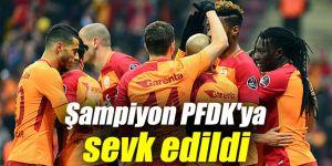 Şampiyon Galatasaray PFDK'ya sevk edildi