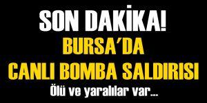 Flaş! Bursa'da Patlama! Ölü ve yaralılar var