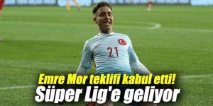 Emre Mor teklifi kabul etti! Süper Lig'e geliyor