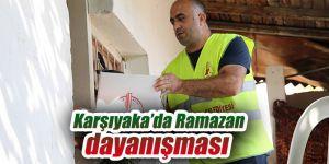 Karşıyaka'da Ramazan dayanışması sürüyor