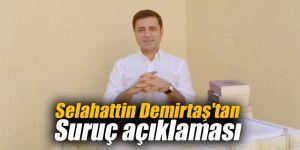Selahattin Demirtaş'tan Suruç açıklaması